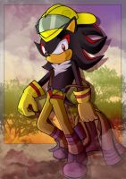 Shadow the Firehog by GBIllustrations