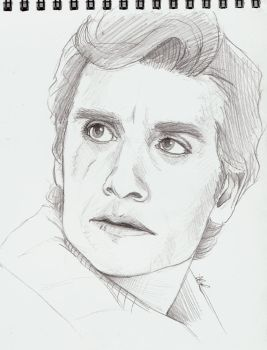 Poe Dameron - Quick Sketch by Schu-was-here