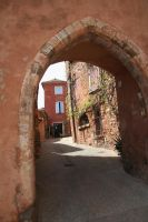 look through Roussillon by ingeline-art