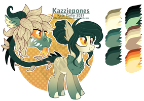 Primal Plant Pony - Auction 2 [CLOSED] by Kazziepones