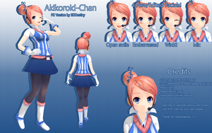 P2 Akikoloid-Chan Download by 3DDestiny