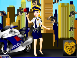 Police Woman Dressup Game by willbeyou