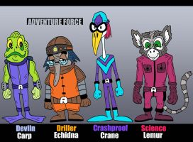Adventure Force by Lordwormm