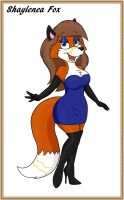 Shaylenea Fox color by Veronica-Skunkette