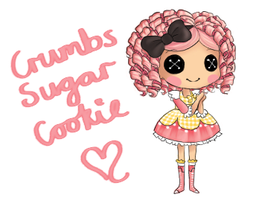 Crumbs Sugar Cookie by Vanilla-Rocket