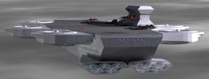 Omega 7 Helicarrier-V2-7 by Roguewing