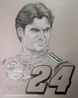 Jeff Gordon portrait by Storm01535