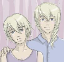 A Portrait of Brothers by kopiikat