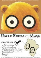 """Uncle Rhubarb"" Mask by Mr-Sisson"