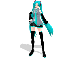 MonteKIO regular Miku DOWNLOAD by Arlymone