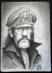 Caricature of Lemmy from Motorhead by UptownPete