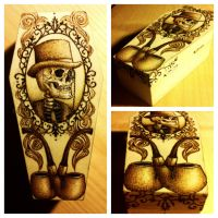 The Dead Gentleman's Pipe Case by VoodooDollyArtwork
