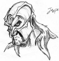 Jeepers Creepers:CartoonSketch by ACivicDilemma