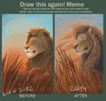 Draw this again meme by Barkyn