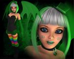 St. Patty's Succubus by WilliamRumley