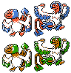 Archen Archeops GSC Sprites by Axel-Comics