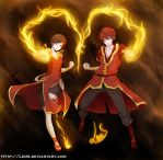 The Flamboyant Duo by Lems