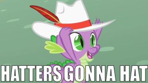 Hatters Gonna Hat by UltimaShadow7