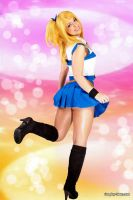 Lucy Fairy Tail Cosplay by pgmorin