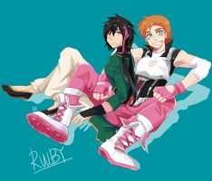 Nora and ren by GAN-91003