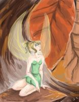 Tinkerbell speedpaint by RaineKitty