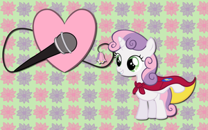 Sweetie Belle wallpaper 2 by AliceHumanSacrifice0