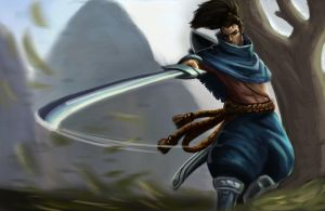 LoL Yasuo by FeiHai