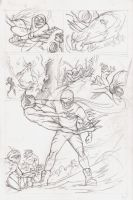 Isaac Vs. The Minions Page 2 Pencils by justinprokowich