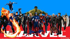 Marvel Superheroes Wallpaper Widescreen by Timetravel6000v2