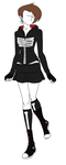 Fashion Design: Grim Jr. Inspired Outfit by MaliceInTheAbyss