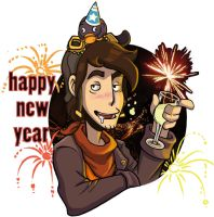 Happy new year_Rufus by Schattencyra
