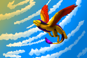 If I Could Fall Into the Sky by dragonfriendhaj