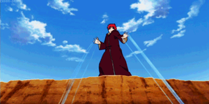 Sasori glomps Deidara GIF by Deidara-The-Akatsuki