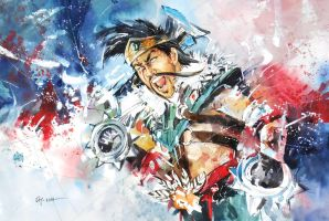 League of Legends - Draven by Abstractmusiq