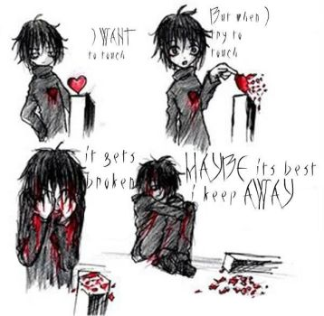 cheer up emo kid by swanks