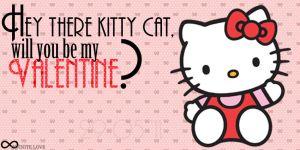 Valentine Card Hello Kitty by this4u