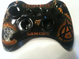 Sons of Anarchy xbox 360 controller by chrisfurguson
