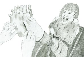 The Tutootsy Toe Tickling Squeal by CaveElf