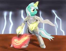Epic Lyra by 8Aerondight8