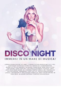 Flyer A6 - Disco Night by Matc351