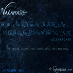 FONT: Vanamare by Gpotious