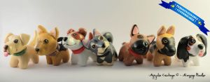 Doggies - The entire collection ! by AnimalisCreations