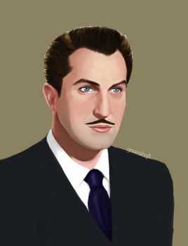 Vincent Price re-paint by GreenishQ8