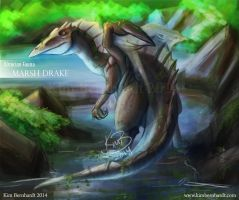 Almicia Fauna: Marsh Drake by phantos