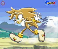 Otto Sonic X style by shadowhatesomochao
