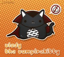 Vlady - The VampireKitty by SquidPig