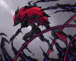 Zoroark used Night Daze by Kansaibou