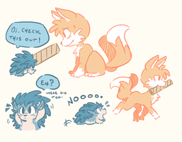 Well screw you Tails by DiachanX