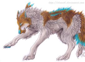 ArtTrade: Humwolf by Eleweth