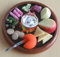 Appetizer Platter by fairchildart